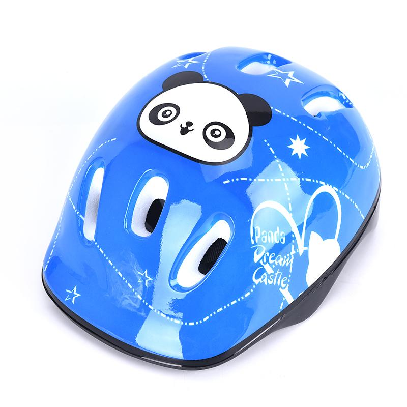 Giá bán The Mego Graceful Kids Bike Xe Đạp Đầu Mũ Bảo Hiểm Trượt Băng Trượt Ván Cô Gái Chàng Trai Thiết Bị Bảo Vệ