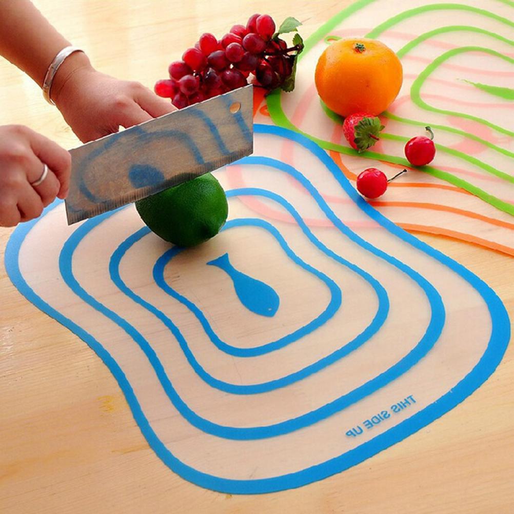 Aolaa Zhang Fuzhi Nhựa Cắt Làm Bếp Linh Hoạt Cắt Rau Trái Cây Tấm Bảng Siêu Mỏng
