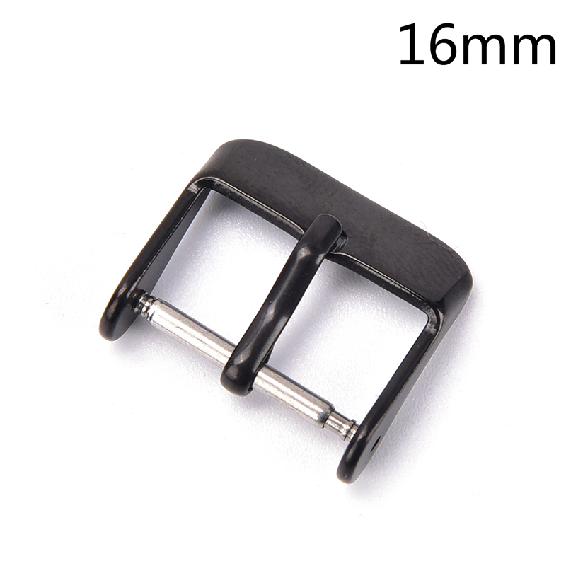 Giá Lokei 1pc 16 18 20 22 24mm Stainless Steel Needle Buckle Parts Watch Band Strap Clasp
