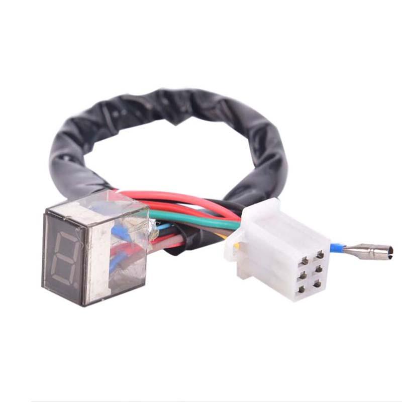 Mua godessing LED Universal Digital Gear Indicator Motorcycle Display Shift Lever Sensor